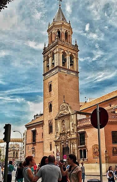 Church of San Pedro in Sevilla