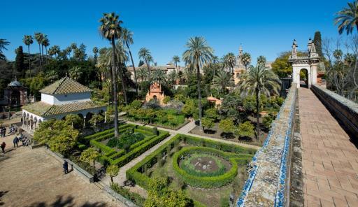 jardines reales alcazar juego de tronos