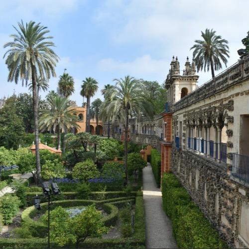 Parken en tuinen Sevilla