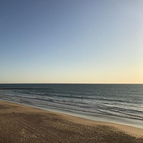 Beach of Cádiz