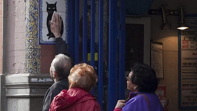 gato negro, black cat, Sevilla, Seville, lottery, Lotería