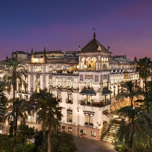 Luxe hotels Sevilla