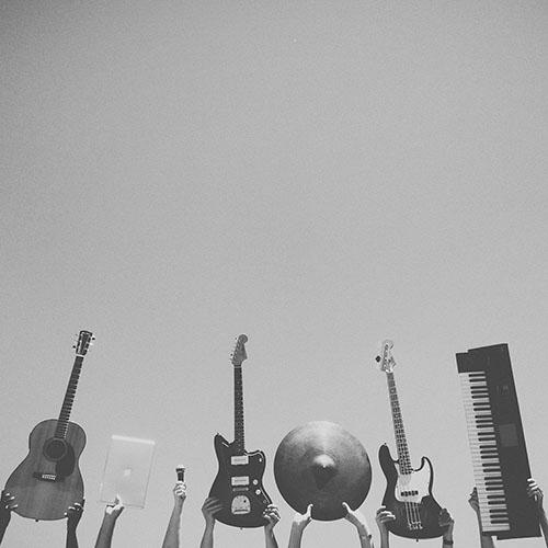 music intruments la pegatina