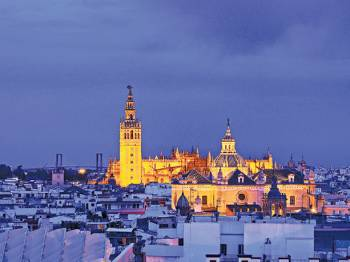 Seville by night, guided tour Seville.