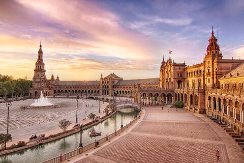 Plaza van Spanje Sevilla