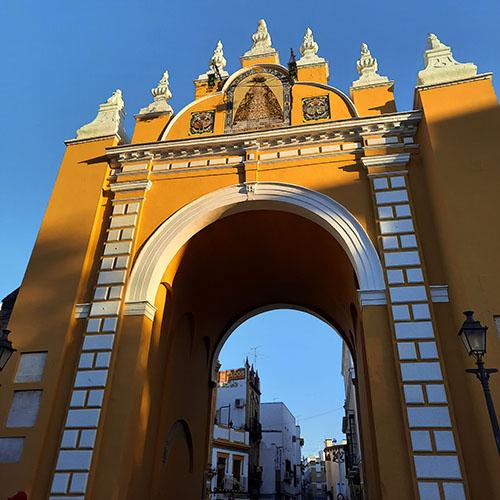 la Puerta de la Macarena Seville