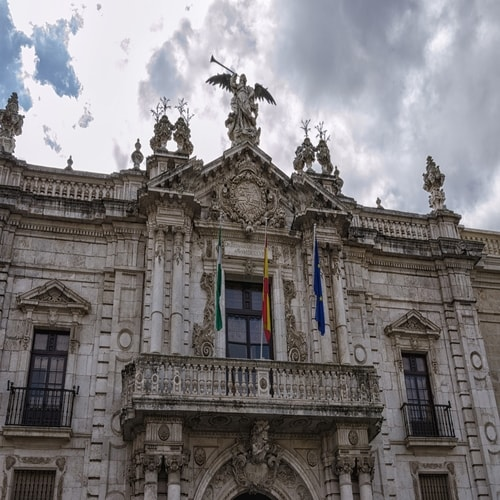 tabaco factory, university building of Seville