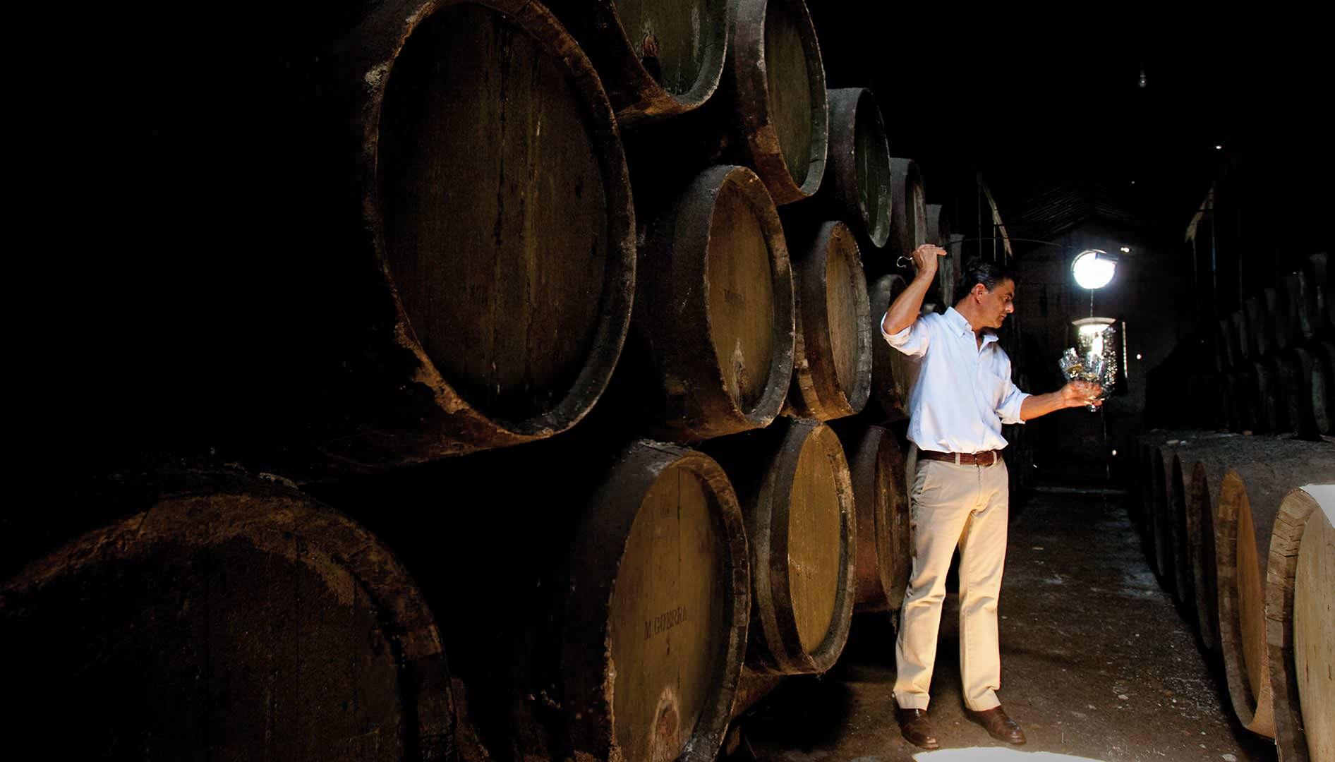 wine route jerez